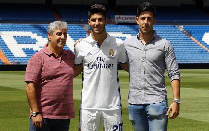 El sacrificio del padre de Marco Asensio por el jugador del Madrid ...