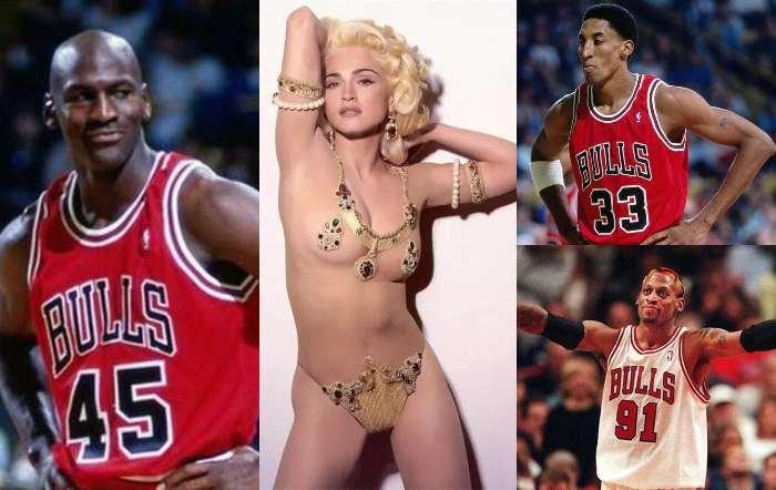 Madonna se lo hizo con media NBA: líos sexuales con Jordan, Pippen, Rodman...