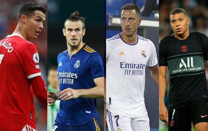 Los 10 mejores pagados del mundo: Cristiano Ronaldo da el sorpasso; en el Madrid están Hazard y Bale